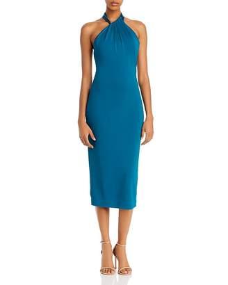 Cushnie Sleeveless Midi Sheath Dress