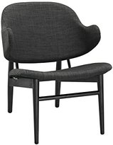 Modway Suffuse Lounge Chair, Black