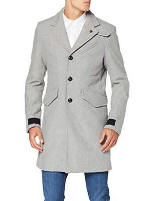 G Star Men's Varve Wool Coat, (Grey HTR 906), XX-Large