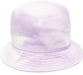 we11done Embossed-Logo Bucket Hat
