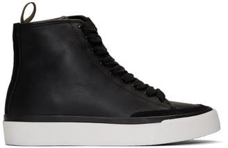 Rag & Bone Black RB High-Top Sneakers