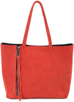 Elena Ghisellini zip detail tote bag - women - Leather - One Size
