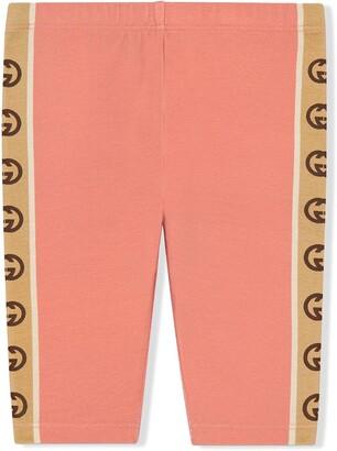 Gucci Kids Interlocking G leggings