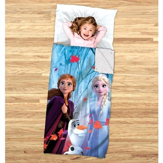 Disney Frozen Disney's Frozen 2 Kids 2-in-1 Slumber Bag and Cozy Cover