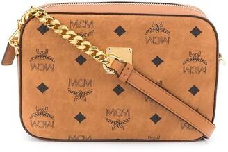 MCM E/W Visetos-print crossbody bag