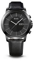 HUGO BOSS 1512904 Black Leather Strap Quartz Watch - Assorted Pre-Pack