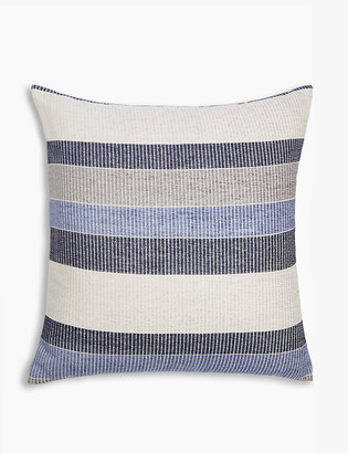 Marks and Spencer Striped Chenille Cushion