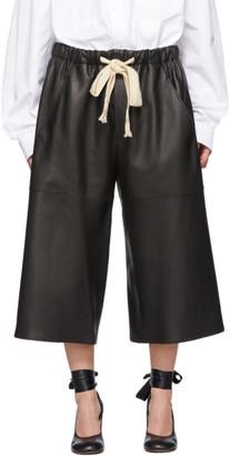 Loewe Black Leather Pants