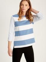 White Stuff Mixed stripe jersey tee