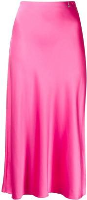 Patrizia Pepe Logo-Charm Midi Skirt