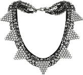 Topshop Rhinestone Triangle Collar