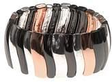 Nine West Classics Tri Tone Drama Stretch Bracelet