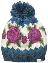 Coal Women's The Rose Wallpaper Knit Hat with Pom