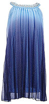 Xtraordinary Big Girls 7-16 Halter-Neck Ombre Dress