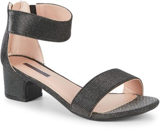 Stuart Weitzman Girl's Rosalyn Alexa Ankle-Strap Sandals