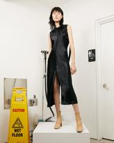 Helmut Lang Ruched Silk Dress