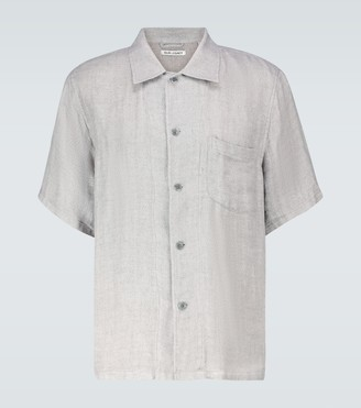 Our Legacy Box short-sleeved linen shirt