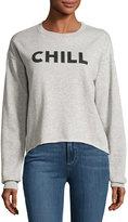 Signorelli Chill Graphic Roll-Hem Sweatshirt, Gray