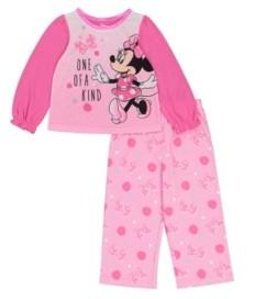 AME Minnie Mouse Toddler Girls 2-Piece Pajama Set