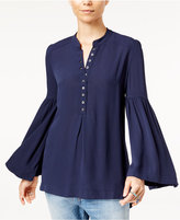 Free People Easy Girl Bell-Sleeve Top