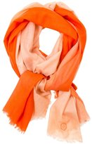 Jonathan Adler Dip Dye Scarf - Orange