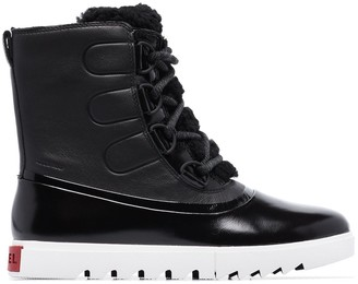 Sorel Joan of Arctic leather boots