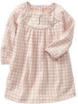Gap Dot keyhole dress
