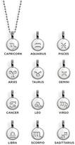 """Alex Woo Mini Addition Zodiac Scorpio Sterling Silver Pendant Necklace, 16"""""""