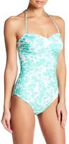 Shoshanna Twist One Piece Swimsuit