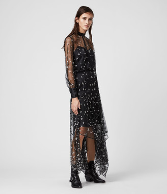 AllSaints Leria Flora Dress