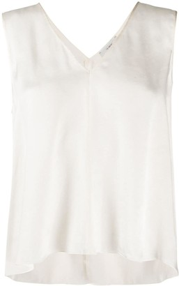 Forte Forte Sleeveless V-Neck Top