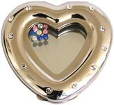 Rucci Compact Mirror, Heart Shaped