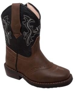 Case Ih Toddler Boys Western Light Up Boot