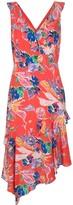 Milly Alexis bouquet floral print dress