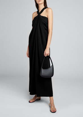 The Row Loon Twisted Halter-Neck Dress