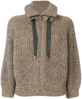 Brunello Cucinelli zipped knitted cardigan - women - Cashmere/Virgin Wool/Cashgora - S