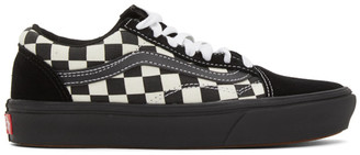 Vans White and Black OG Old Skool LX Sneakers