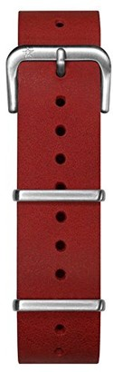 Oxygen Unisex Red Leather Buckle Pin of 20cm EX-NL-STR-20-RE