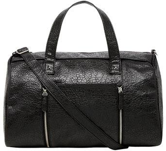Dorothy Perkins Black oversized bowler bag
