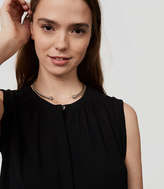 LOFT Twist Collar Necklace