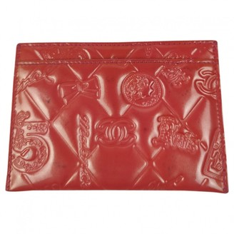 Chanel Red Patent leather Purses, wallets & cases