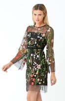 Hale Bob Rafaela Blooming Garden Dress In Black