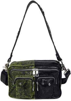Nunoo Ellie Snakeskin-Embossed Leather Crossbody Bag