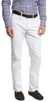 Peter Millar Straight-Leg Denim Jeans, White