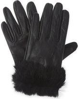 Claudie Pierlot Faux-fur cuff gloves