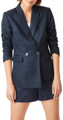 French Connection Linen Relaxed Blazer