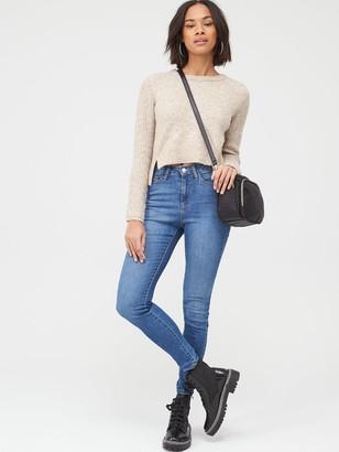 Very Isabelle High Rise Slim Leg Jeans - Blue