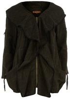 Dorothy Perkins Green checked coat