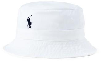 Ralph Lauren Cotton Chino Bucket Hat