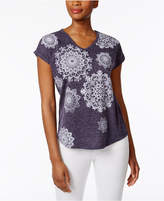 Style&Co. Style & Co Style & Co Petite Medallion Graphic T-Shirt, Created for Macy's